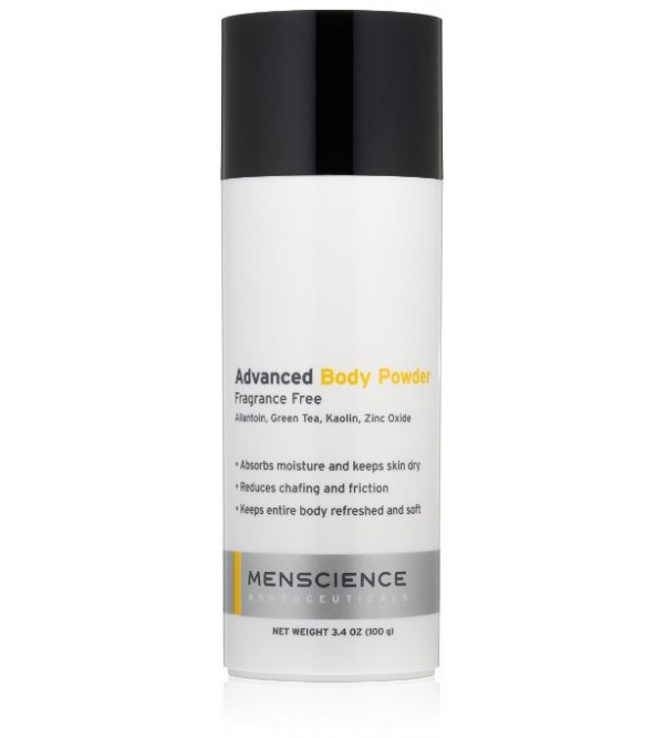 MenScience Androceuticals Advanced Body Powder 3.4 oz.