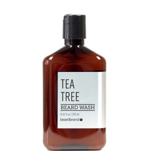 BEARDBRAND SILVER LINE BEARD WASH - TEA TREE