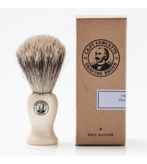 Captain Fawcett 'Best' Badger' Shaving Brush