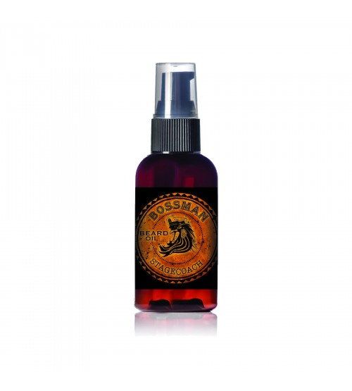 BOSSMAN BEARD OIL - STAGECOACH