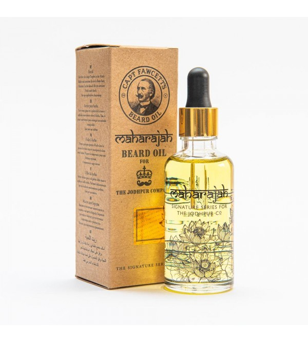 Captain Fawcett - Maharajah Beard Oil