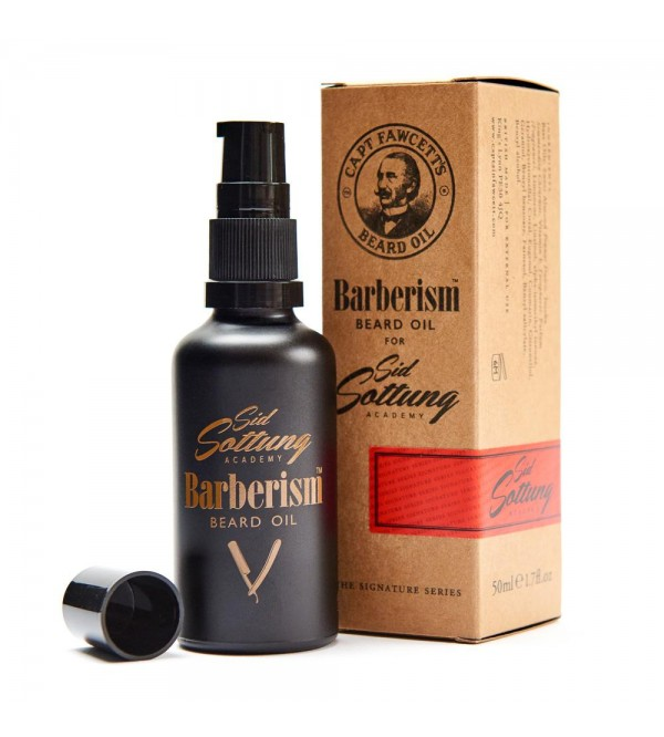Captain Fawcett Barberism™ Beard Oil