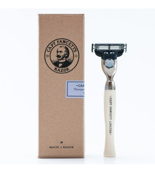 Captain Fawcett Finest Hand Crafted Safety Razor