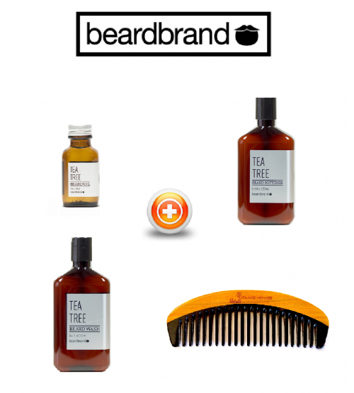 BEARDBRAND GIFT SET - TEA TREE