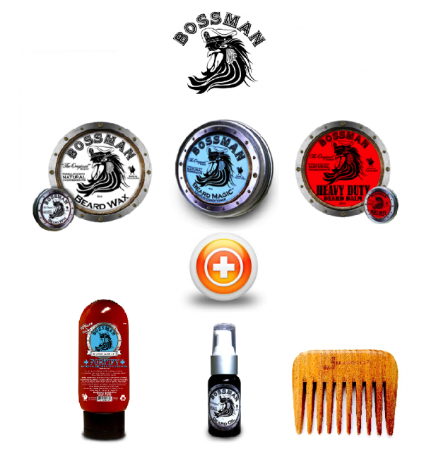 Bossman Beard Care Gift Set
