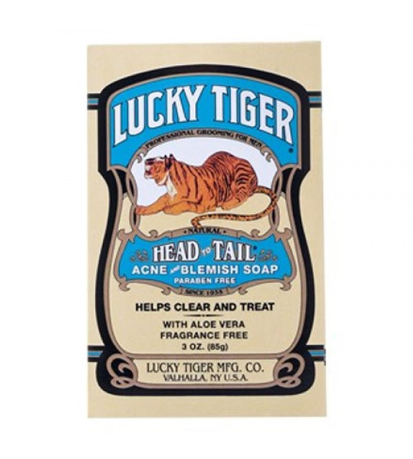 Lucky Tiger Head to Tail Acne & Blemish Soap