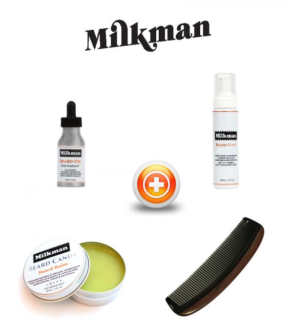 Milkman Beard Care Gift Set - Pole Position