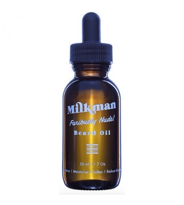 Milkman Furiously Nude Beard Oil
