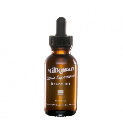 Milkman Citrus Supernova Beard Oil