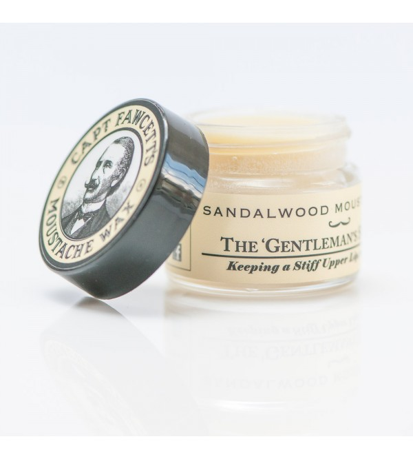 Captain Fawcett Sandalwood Moustache Wax