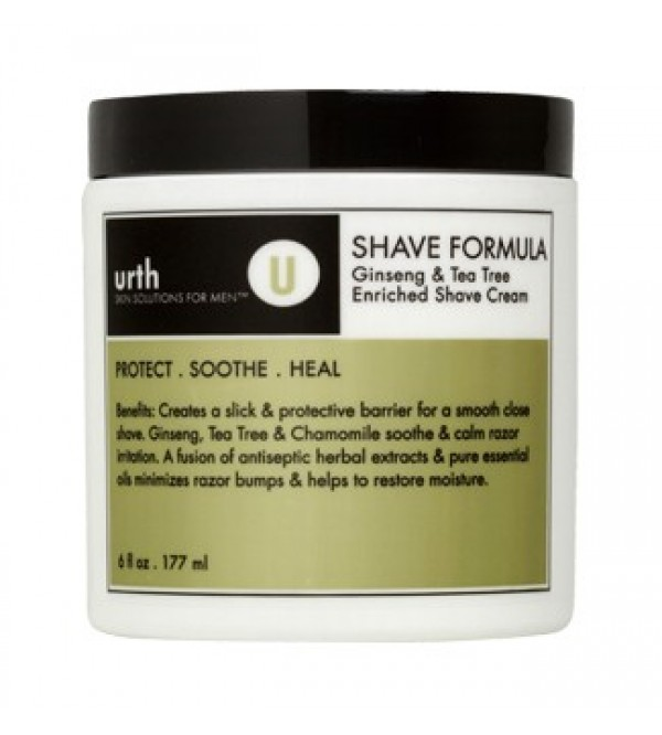 Urth SHAVE FORMULA WITH GINSENG & TEA TREE, 177ML
