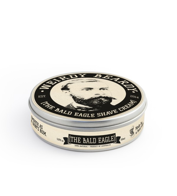"Weirdy Beardy ""The Bald Eagle"" Shaving Cream"