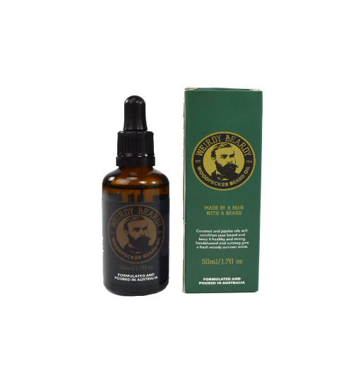 "Weirdy Beardy ""The Woodpecker"" Beard Oil"