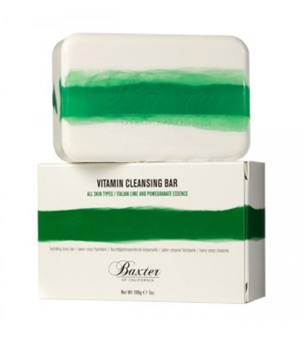 Baxter Vitamin Cleansing Bar - Italian Lime / Pomegranate