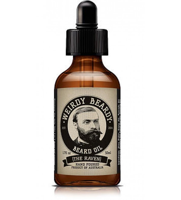"Weirdy Beardy ""The Raven"" Beard Oil"